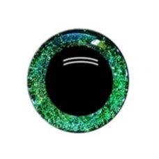 Глаза 16 мм, цвет зелёный