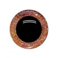 Глаза 16 мм, цвет оранжевый