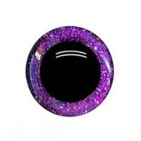 Глаза 16 мм, цвет фиолетовый