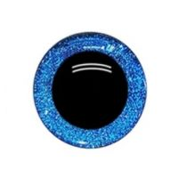 Глаза 16 мм, цвет синий
