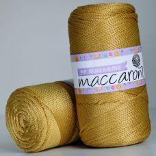 Maccaroni PP Macrame 2 мм, цвет золото