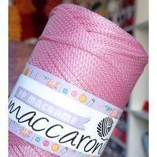 Maccaroni PP Macrame 2 мм, цвет розовый