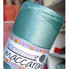 Maccaroni PP Macrame 2 мм, цвет тиффани
