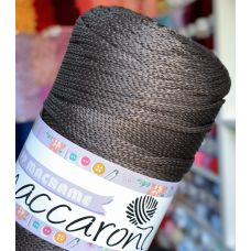 Maccaroni PP Macrame 2 мм, цвет коричневый