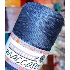 Maccaroni PP Macrame 2 мм, цвет индиго