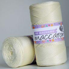 Maccaroni PP Macrame 2 мм, цвет молочный