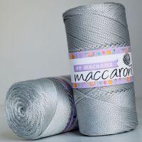 Maccaroni PP Macrame 2 мм, цвет серебро