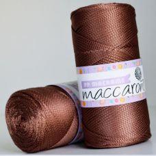 Maccaroni PP Macrame 2 мм, цвет шоколад