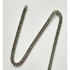 Цепь металлическая, 7 мм, цвет никель