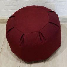 Основа для пуфа, размер 28*40, цвет бордовый