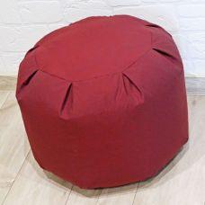 Основа для пуфа, размер 35*47, цвет бордовый