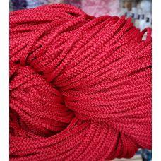 Шнур 5 мм, цвет красный 65