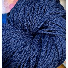 Шнур 5 мм, цвет синий 75