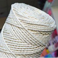 Верёвка крученая 3 мм, цвет натуральный